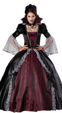 Deluxe Vampiress Of Versailles Costume