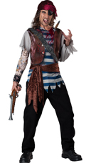 Men's Dead Man's Chest Pirate Costume