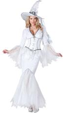 White Magic Witch Costume