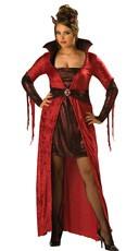 Plus Size Seductive Devil Costume