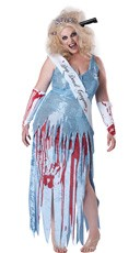 Plus Size Drop Dead Gorgeous Bride Costume