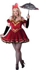 Plus Size Deluxe Circus Cutie Costume