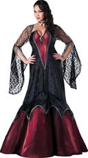 Plus Size Deluxe Vampire Costume
