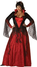 Plus Size Devil\'s Desire Costume
