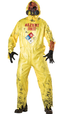 Men's Hazmat Hazard Costume