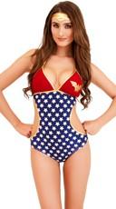 Wonder Woman Triangle Monokini