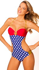 Wonder Woman Bandeau Monokini