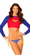 Wonder Woman Rash Guard
