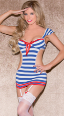 Hello Sailor Lingerie Costume