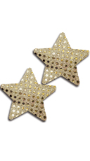 Gold Sequin Star Pasties