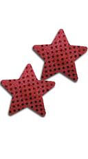 Red Sequin Star Pasties
