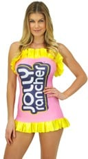 Pink Jolly Rancher Costume