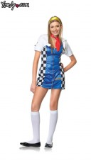 Teen Race Car Driver Costume