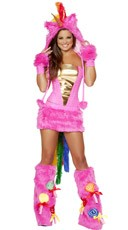 Deluxe Hot Pink Unicorn Costume