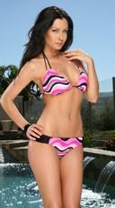 Hot Pink Tides Bikini
