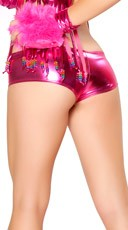Stretch Foil Shorts