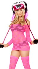 Heart Net Dress