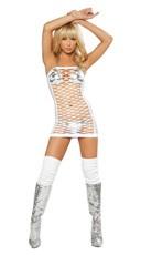Net Tube Dress