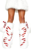Candy Cane Leg Warmers