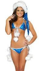 Silver Star Bikini Set