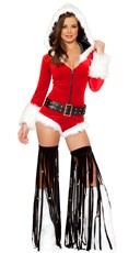 Jingle Bell Romper and Fringe Legwarmers