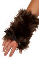 Men's Brown Bear Gloves