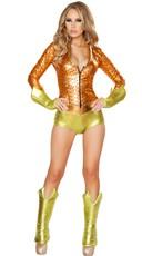Aqua Girl Costume