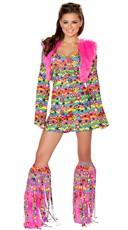 Shagadelic Hippie Costume