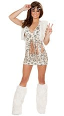 Peace Baby Hippie Costume