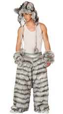 Men's Rave Wolf Costume