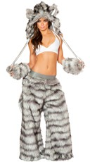 Sexy Rave Wolf Costume
