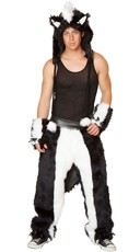 Men's Skunk Costume