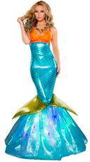Deluxe Aquarius Mermaid Costume