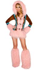 Pink Eskimo Cutie Costume