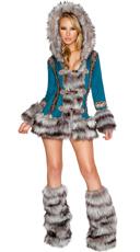 Turquoise Eskimo Cutie Costume
