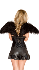 Dark Angel Wings with Harness