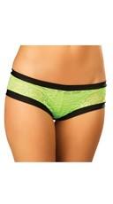 Paisley Lace Shorts