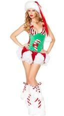 Candy Cane Romper Costume