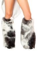 Husky Costume Claw Legwarmers