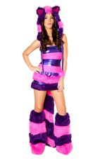 Wonderland Cheshire Cat Rave Costume