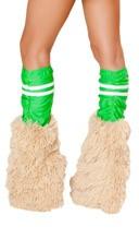 Green Sporty Legwarmers