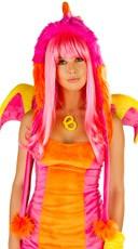 Deluxe Pink Dragon Hood