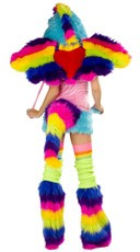 Deluxe Rainbow Pony Heart Wings