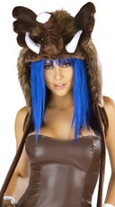 Deluxe Woolly Mammoth Hood