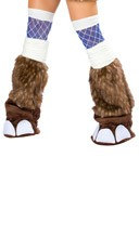 Deluxe Woolly Mammoth Legwarmers