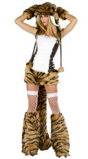 Deluxe Sabertooth Tiger Costume