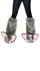 Deluxe Pink Elephant Legwarmers