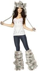 Furry Wolf Costume Set
