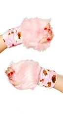 Furry Character Gloves
