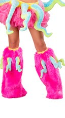 Furry Octopus Legwarmers